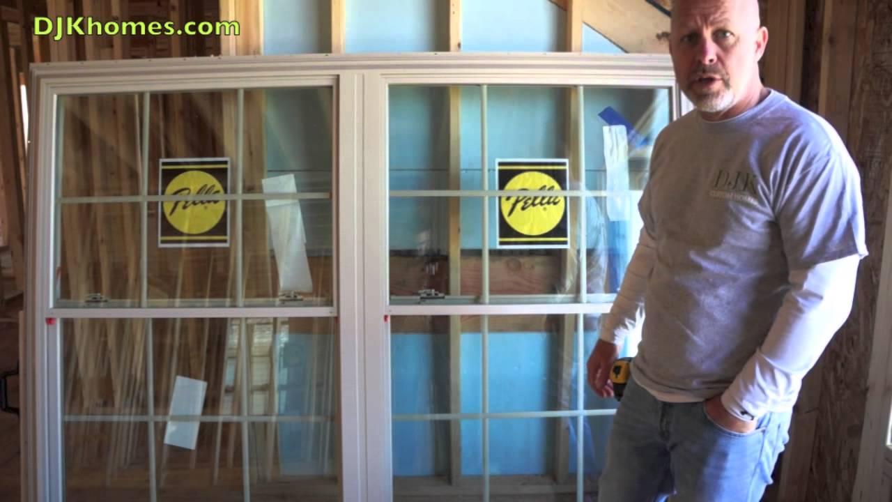 Dan Kittilsen Explains Pella 250 Series Windows Youtube