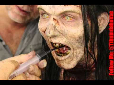 maquillaje zombie profesional