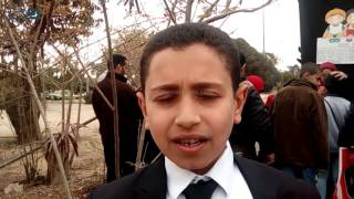 مصر العربية | طفل يقلد هشام الجخ وقصيدة
