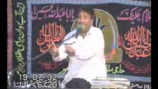 Zakir Musa khan  best majlis at Lahore