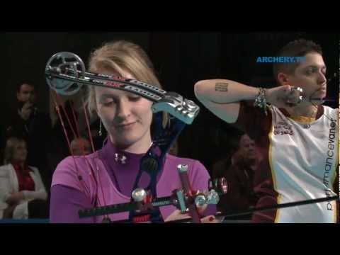 Danielle Brown v Marcella Tonioli – compound women gold |Nimes 2012