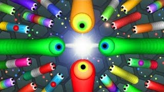 Slither.io attacking mod growing