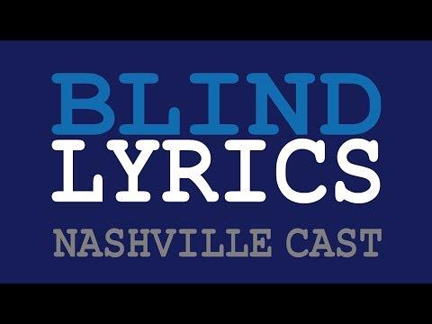 BLIND  Aubrey Peeples  Nashville Cast s