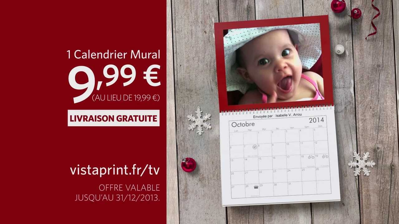 Vistaprint calendrier mural gratuit 28 images for Calendrier photo mural gratuit