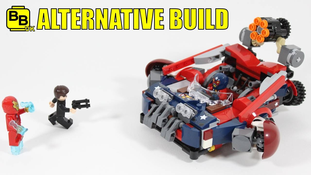 LEGO MARVEL 76077 ALTERNATIVE BUILD HAMMER'S HOVERTANK ...