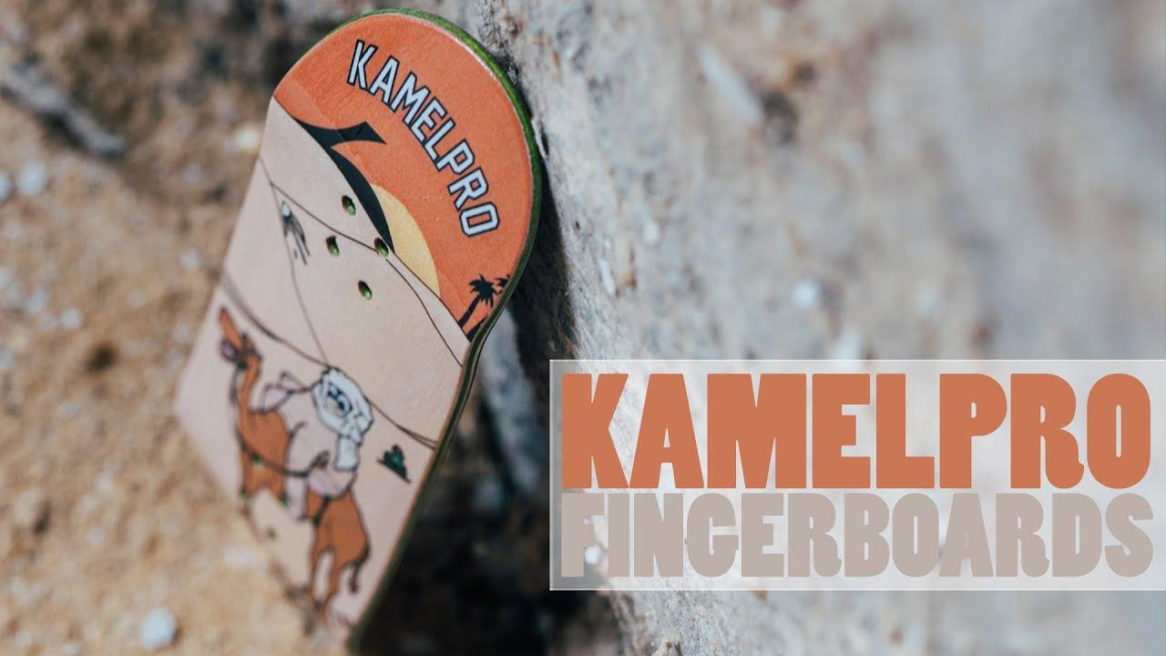 KamelPro Fingerboards - Fingerboard Graphic Deck - Product Blog