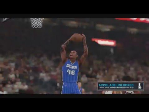 NBA 2k16 - Dwayne Watson #48 Hands-off two dunk vs Miami Heat