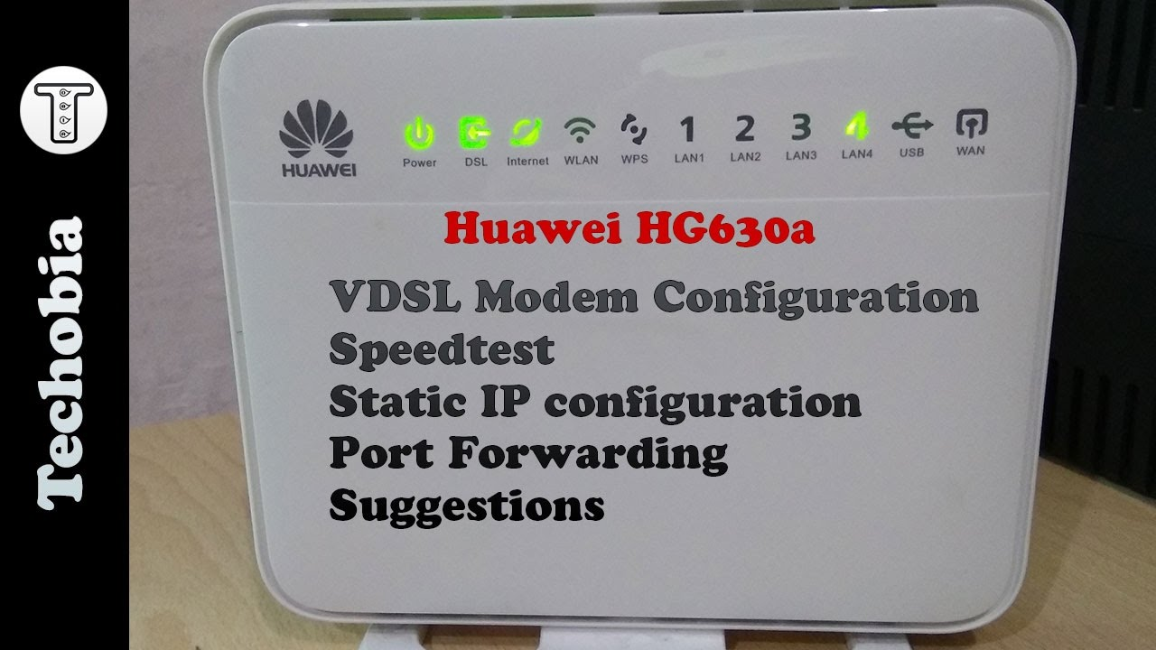 Huawei Hg630a Airtel 40 Mbps Vdsl Modem Static Ip Port Wiring Diagram Forward Speedtest Configuration