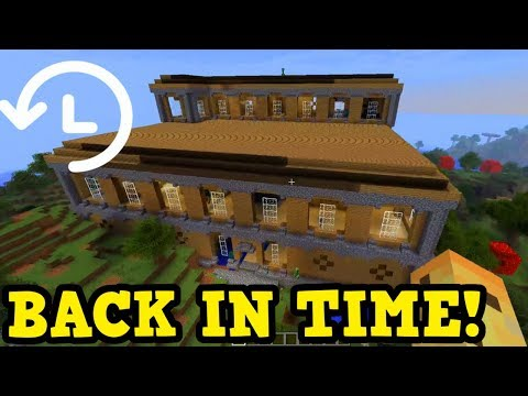 Taking Minecraft's Woodland Mansion Back In Time