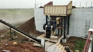 KINGSON CRUSHER 200 TPH Stationary Stone Crushing Unit