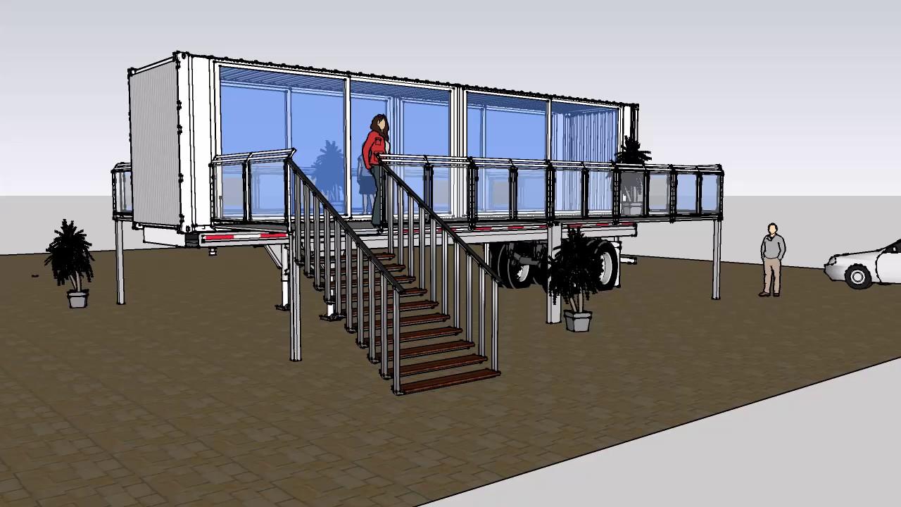 Ufficio A Container : Ufficio mobile container vetrati container motorsport eventi