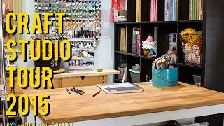 Craft Room Tour March 2015