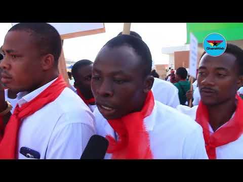 '2020 is coming' – Jobless nurses warn Nana Addo at NABCO demo