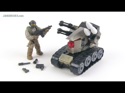 Mega Bloks Call of Duty Drone Attack (AGR) set review!