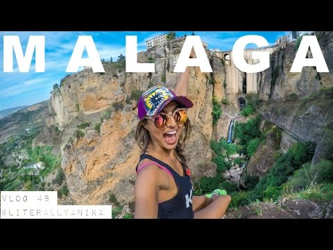 THOSE VIEWS WERE EPIC!! (MALAGA TRAVEL VLOG)