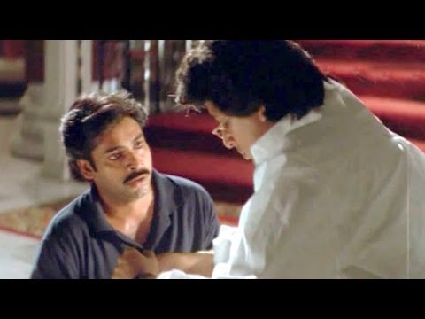 A Heart touching Father And Son Relationship Scene - Suswagatham - Pawan Kalyan, Devayani