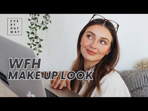 WFH Makeup To Wear 4 Your Zoom Meetings - YouTube