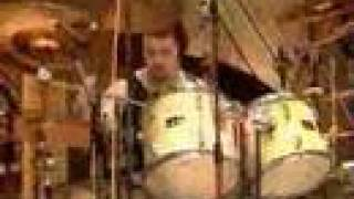 Davy Mickers drumming Calliopeia