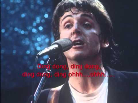 PAUL McCARTNEY & WINGS - A Wonderful Christmas Time (with ...