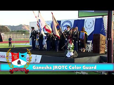 2017 Ganesha High School Commencement Ceremony *NO SOUND*
