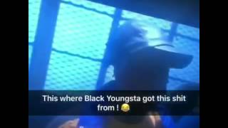 Blac Youngsta stole swag from this movie