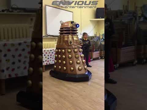 Buddy the Dalek at Honeybourne Primary Academy