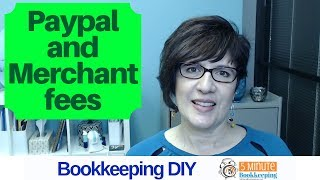 How to enter Paypal fees and merchant fees in QuickBooks Online