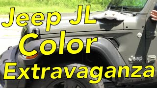 Jeep JL Color Extravaganza Sting Gray Edition PDN