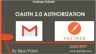 Postman Tutorial - OAUTH 2.0 Authorization using Gmail API
