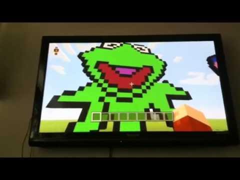 Kermit The Frog Pixel Art Youtube