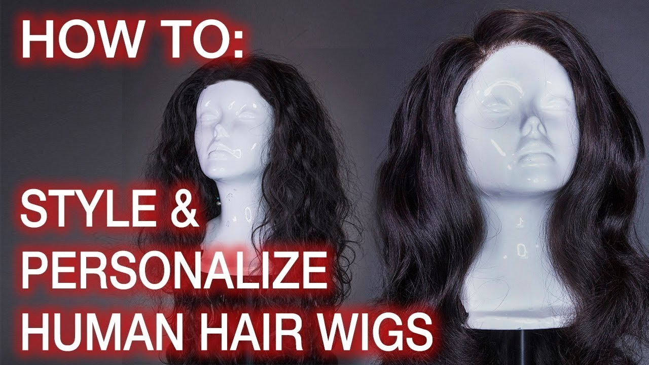 How To Style Human Hair Wigs: Hairline Tweezing, Knot Bleaching, & Curling ft. Beauty Forever Ha