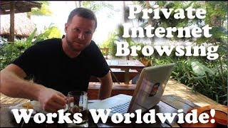 Travel Tip: ProXPN (Private Internet Browsing)