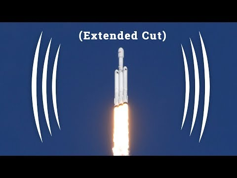 Extended Cut - The Incredible Sounds of the Falcon Heavy Launch - (BINAURAL AUDIO IMMERSION)