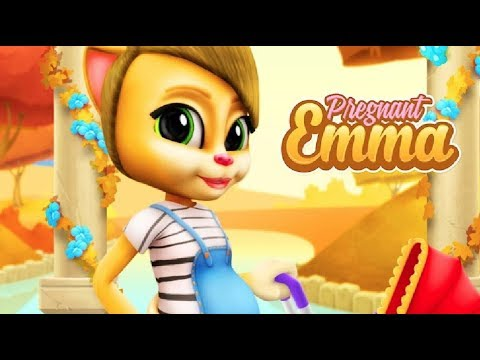 Моя Беременная Говорящая Кошка Эмма 2