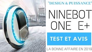 Roue électrique (gyroroue) pas cher : la Ninebot One E+ fait-elle l'affaire ??