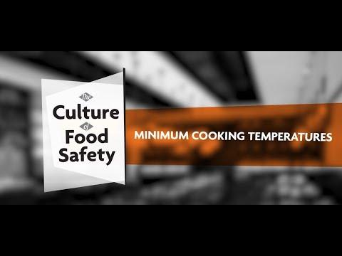 Minimum Cooking Temperatures