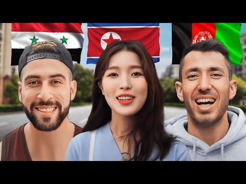 3 INSPIRING REFUGEES (North Korea, Afghanistan, Syria)