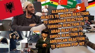 ALBANIAN GUY REACTS TO REACTIONS TO GERMAN POP HIT I Namika - Je ne parle pas francais feat. Black M
