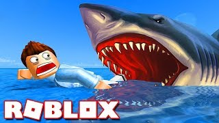 SURVIVE AGAINST THE SHARK! - Roblox