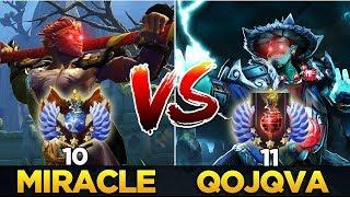 Miracle- Monkey King vs qojqva Storm Spirit - Dota 2 Hard Game!