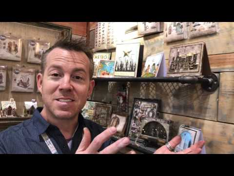 Tim Holtz gives us a tour of Sizzix products and projects - Creativation - CHA 2017