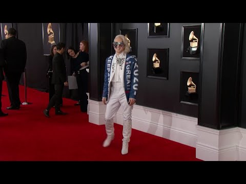 Politics on the Grammys red carpet