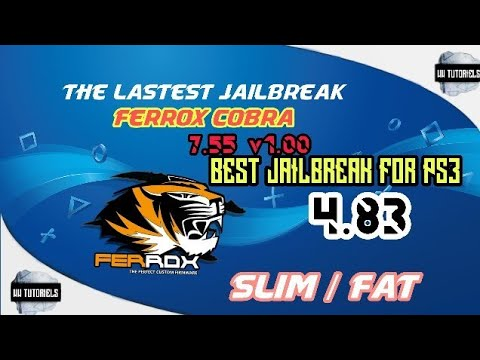 Best Ps3 Cfw 2019 HOW TO JAILBREAK PS3 SLIM/FAT 4.83 NEW 2019 THE LASTEST FERROX