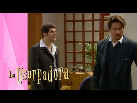 ¡Donato le dirá todo a Carlos Daniel! | La Usurpadora - Televisa