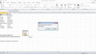 Excel tricks - Multifilter