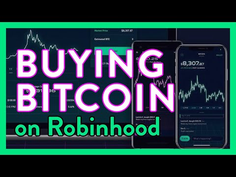 Buying Bitcoin On Robinhood App Overview