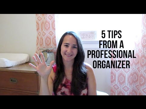 5 Tips From A Professional Organizer