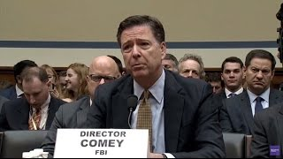 "FBI Director Comey testimony ""Mildly Nauseous to think I affected the Election"""