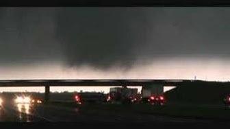 Rare, dramatic video of the Quinter, KS EF4 tornado!