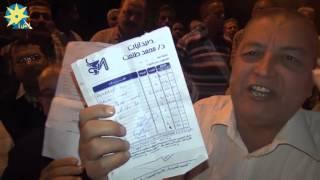 بالفيديو: حالات  طلاق و وفيات  بين عمال مصر إيران للنسيج بالسويس بسبب توقف العمل